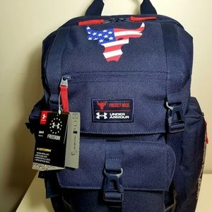 Under Armour PROJECT ROCK Freedom Backpack U.S.A.